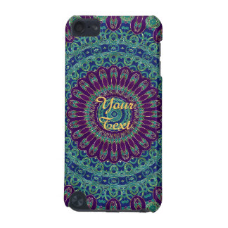 Purple, Blue and Green Mandala iPod Touch 5G Covers