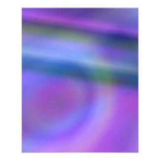 Purple blue color abstract 11.5 cm x 14 cm flyer