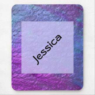 Purple&Blue faux texture Mousepad