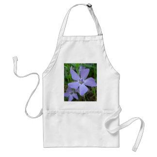 Purple Blue Flower Aprons
