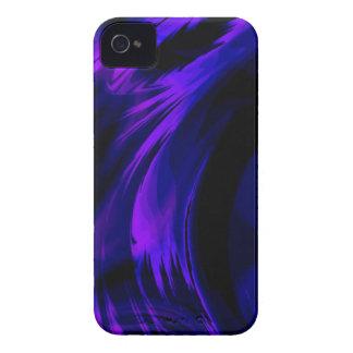 Purple Blue Fractal Art Blackberry Phone Case iPhone 4 Case