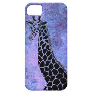 Purple/Blue Giraffe II - iPhone 5/5S Case