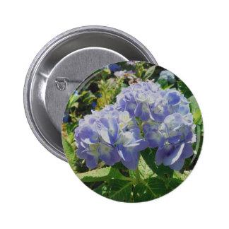 Purple Blue Hydrangea Pins