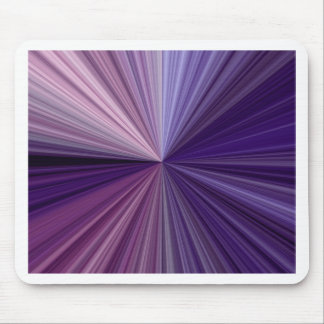 Purple & Blue Lines Shades Of A Spectrum Mouse Pad