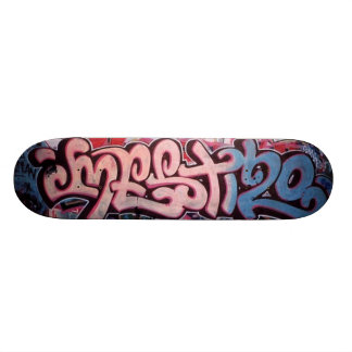 Purple / Blue Tag Skate Board Decks