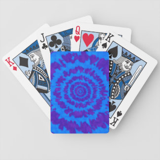 Purple & Blue Tie Dye Playing Cards