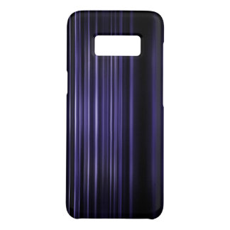 Purple blurred stripes pattern Case-Mate samsung galaxy s8 case
