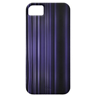 Purple blurred stripes pattern iPhone 5 cover