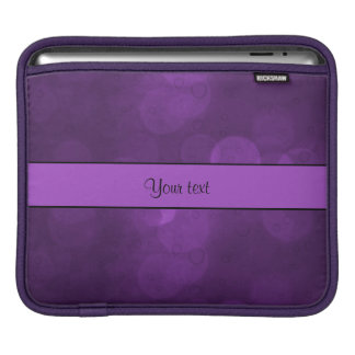 Purple Bokeh Sleeve For iPads