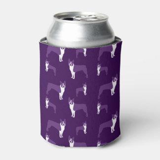 Purple boston terrier