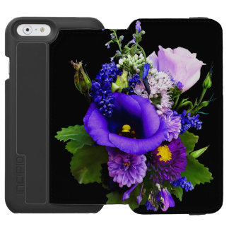 Purple Bouquet With Lilies And Delphinium Incipio Watson™ iPhone 6 Wallet Case