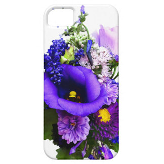 Purple Bouquet With Lilies And Delphinium iPhone 5 Case