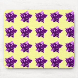 Purple Bow, Gift, Holiday Mousepad