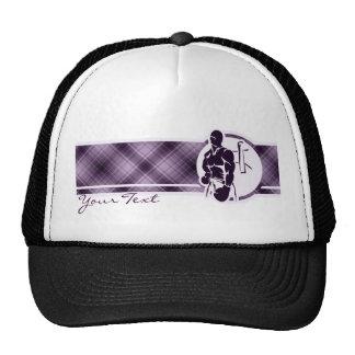 Purple Boxing Mesh Hat