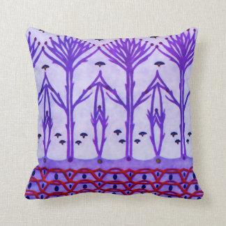 Purple Branches American MoJo Pillows