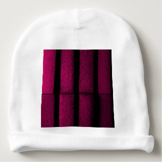 Purple Bricks Baby Beanie