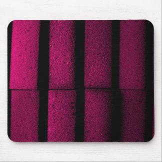 Purple Bricks Mouse Pad