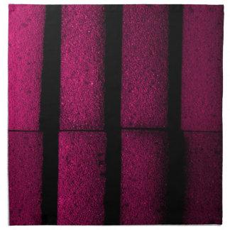 Purple Bricks Napkin