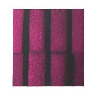 Purple Bricks Notepad