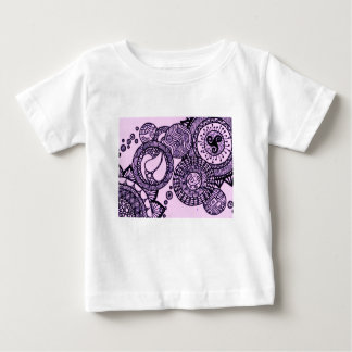 Purple Bubbles Baby T-Shirt