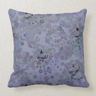 Purple Bubbles Pillow
