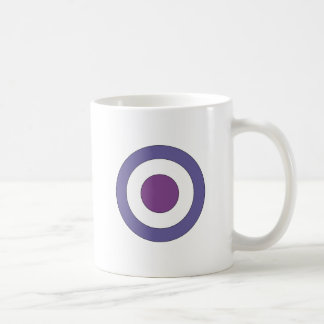 Purple Bulls-eye Mug