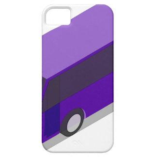 Purple Bus iPhone 5 Case
