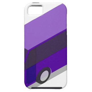 Purple Bus Tough iPhone 5 Case