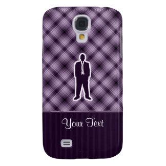 Purple Business Suit HTC Vivid / Raider 4G Cover