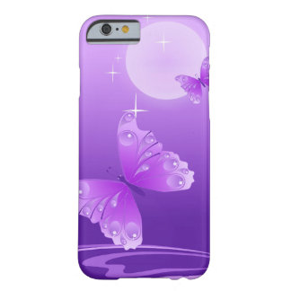 Purple Butterflies Barely There iPhone 6 Case