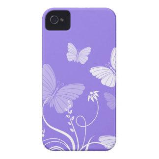 Purple butterflies BlackBerry Bold Case