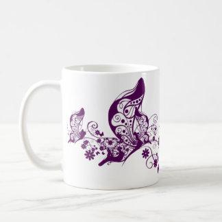 Purple Butterflies Coffee Mug