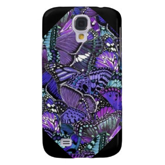 Purple Butterflies Galaxy S4 Cases