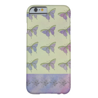 Purple Butterflies Girly Pretty Stylish Fun Barely There iPhone 6 Case