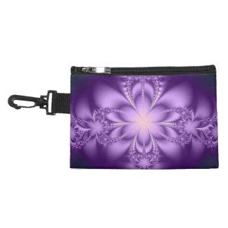 Purple butterflower accessories bags