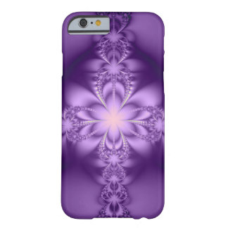 Purple butterflower barely there iPhone 6 case