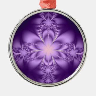 Purple butterflower christmas tree ornaments
