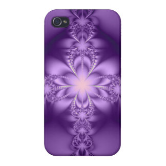 Purple butterflower iPhone 4 covers