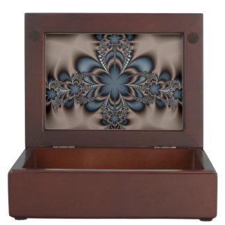 Purple butterflower keepsake box