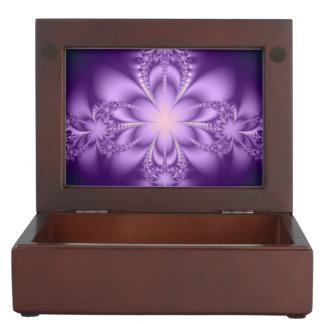Purple butterflower memory box