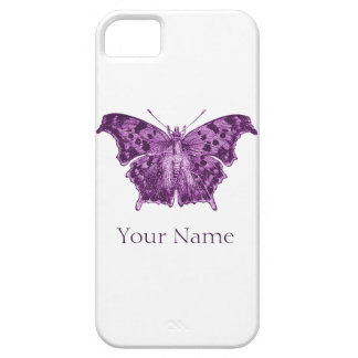 Purple Butterfly, Curiosities Barely There iPhone 5 Case