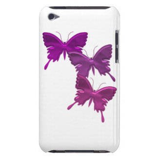 Purple Butterfly Designs iTouch Case