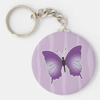 Purple Butterfly key chain