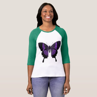 Purple Butterfly Shirt