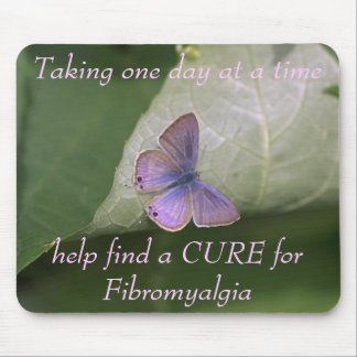 purple butterfly, Taking one day at a time help... Mouse Pad