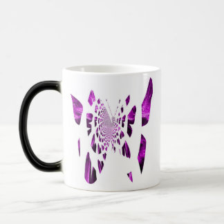 Purple Butterfly Wings Magic Mug