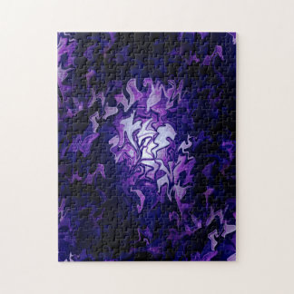 Purple Cabbage Patch... Jigsaw Puzzle