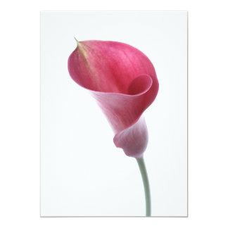 Purple Calla Lily Invitation