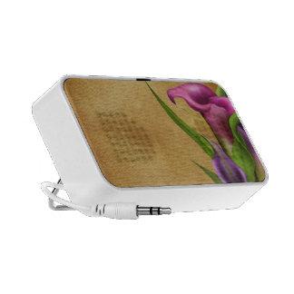 Purple Callas Laptop Speakers