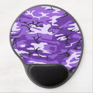 Purple Camo Gel Mouse Pad